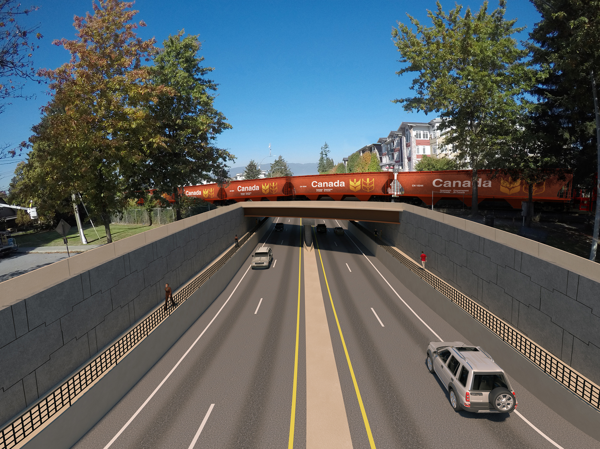 Harris Road rendering